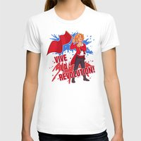 enjolras T-shirts featuring Vive La Révolution! by juanjoltaire