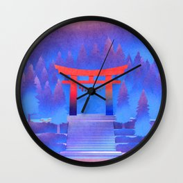 Tengami - Red Gate Wall Clock