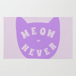 Meow or never Rug
