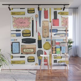 Cosmetic pattern Wall Mural