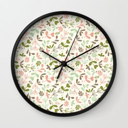 Colorful Lovely Pattern XIV Wall Clock