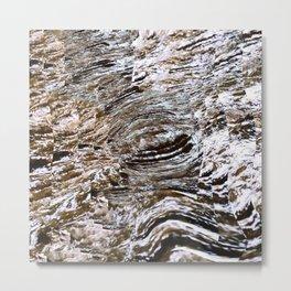 Water Rapids Metal Print