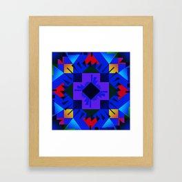 Kaleidoscope 2 Framed Art Print