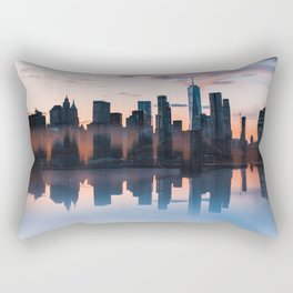 Downtown Reflections Rectangular Pillow