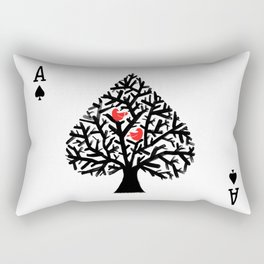 Ace of spade Rectangular Pillow