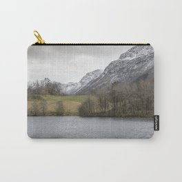 Snowy tops in Norway Carry-All Pouch