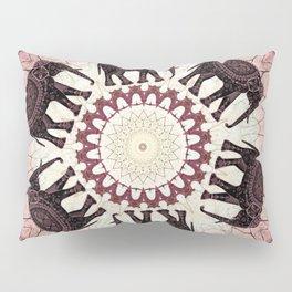 Boho Elephants Pillow Sham