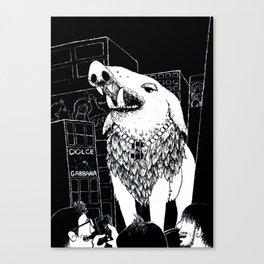 City Wildlife Canvas Print