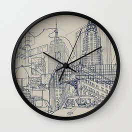 New York! Wall Clock