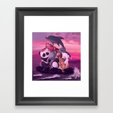Please Keep Me on the Planet Framed Art Print