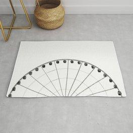 1/2 Ferris Wheel Rug