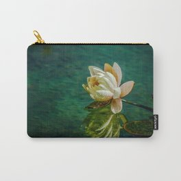 Water Lily after rain Carry-All Pouch