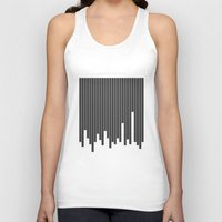cityscape Tank Tops featuring Cityscape by The Blonde Dutch Girl