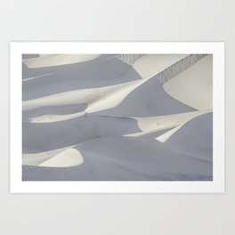 Sand Waves Art Print