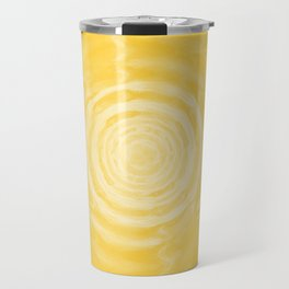 Ripples_Yellow Travel Mug