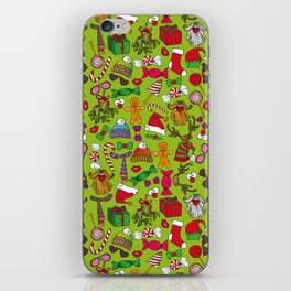 ChristmasMotif iPhone Skin