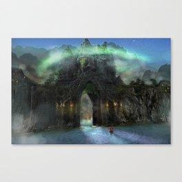 The Jade Gates Canvas Print