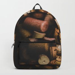 A collection of Wine Corks Photo Backpack