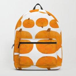 Pumpkin Pattern | Rustic Backpack