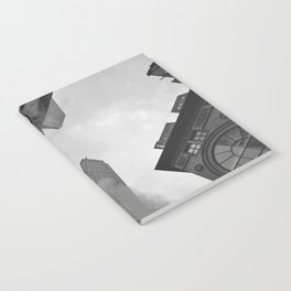 New York City Above (Black and White) Notebook