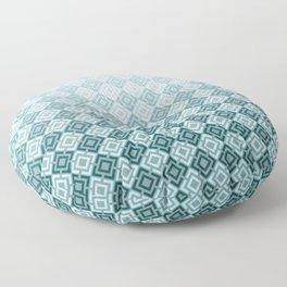 Geometric , gradient 2 Floor Pillow