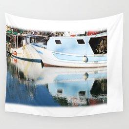 Fishing boats Wall Tapestry