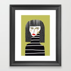 Fashion Illustration. Framed Art Print