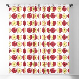 Red apples Blackout Curtain