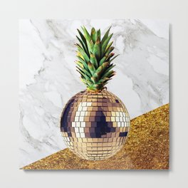 ananas party limited edition Metal Print