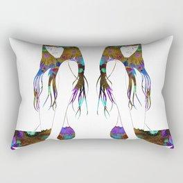 Spring Mermaid Rectangular Pillow