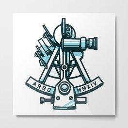 Argonaut Sextant Metal Print