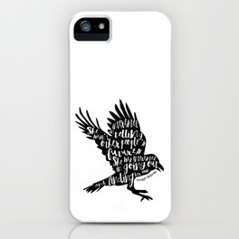 Other People's Futures - The Raven Boys iPhone Case