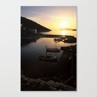 hydra Canvas Prints featuring Hydra by CandelaLight   Photography & Art