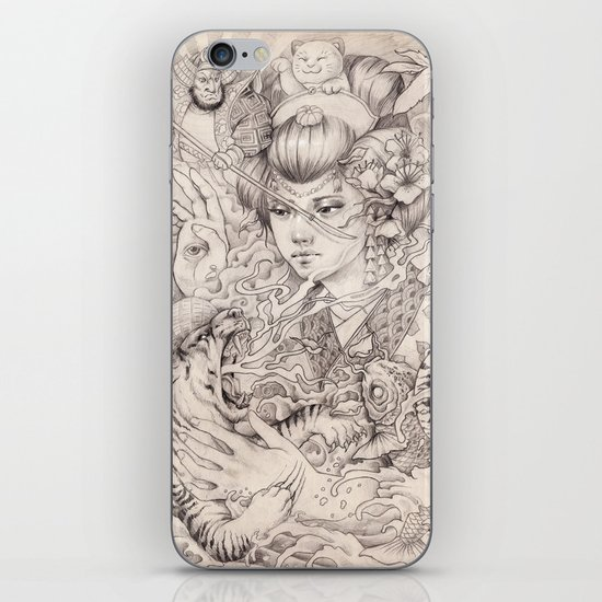 Irezumi iPhone & iPod Skin