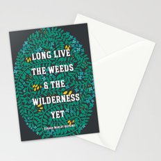 Weeds and Wilderness Stationery Cards