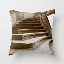 Sand stone spiral staircase 7 Throw Pillow