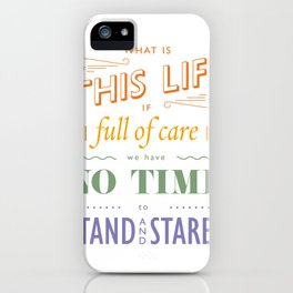 What is this life? iPhone Case