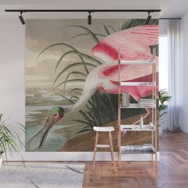 Tropical Exotic Fantasy Bird Landscape Wall Mural