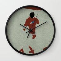 akira Wall Clocks featuring Akira by JHTY