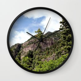 A Trail Leads Up There, to the Upper Cascades --- Rising 1,100 Feet in Less Than a Mile Wall Clock