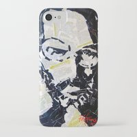 steve jobs iPhone & iPod Cases featuring Steve Jobs by Phil Fung