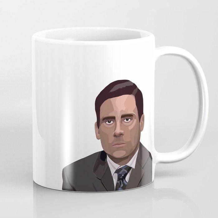 The office coffee mug Nbc Michael Hates Toby The Office Coffee Mug Society6 Michael Hates Toby The Office Coffee Mug By Floragreydesigns