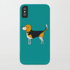 Beagle iPhone X Slim Case