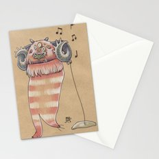 MUSIC MONSTER Stationery Cards