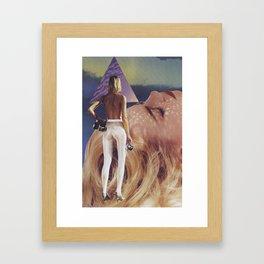 """'dame"""" Framed Art Print"""