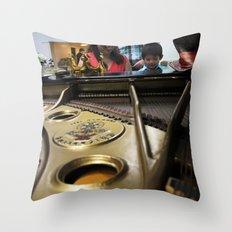 Piano Recital Throw Pillow