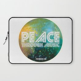 Peace Through Music Laptop Sleeve