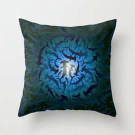 Beneath The Hammer Throw Pillow