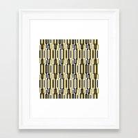 kilim Framed Art Prints featuring kilim 01 by Ioana Luscov