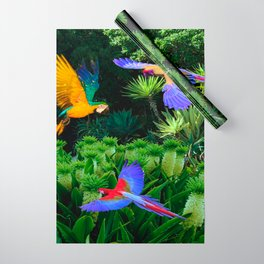 Jungle Paradise Wrapping Paper